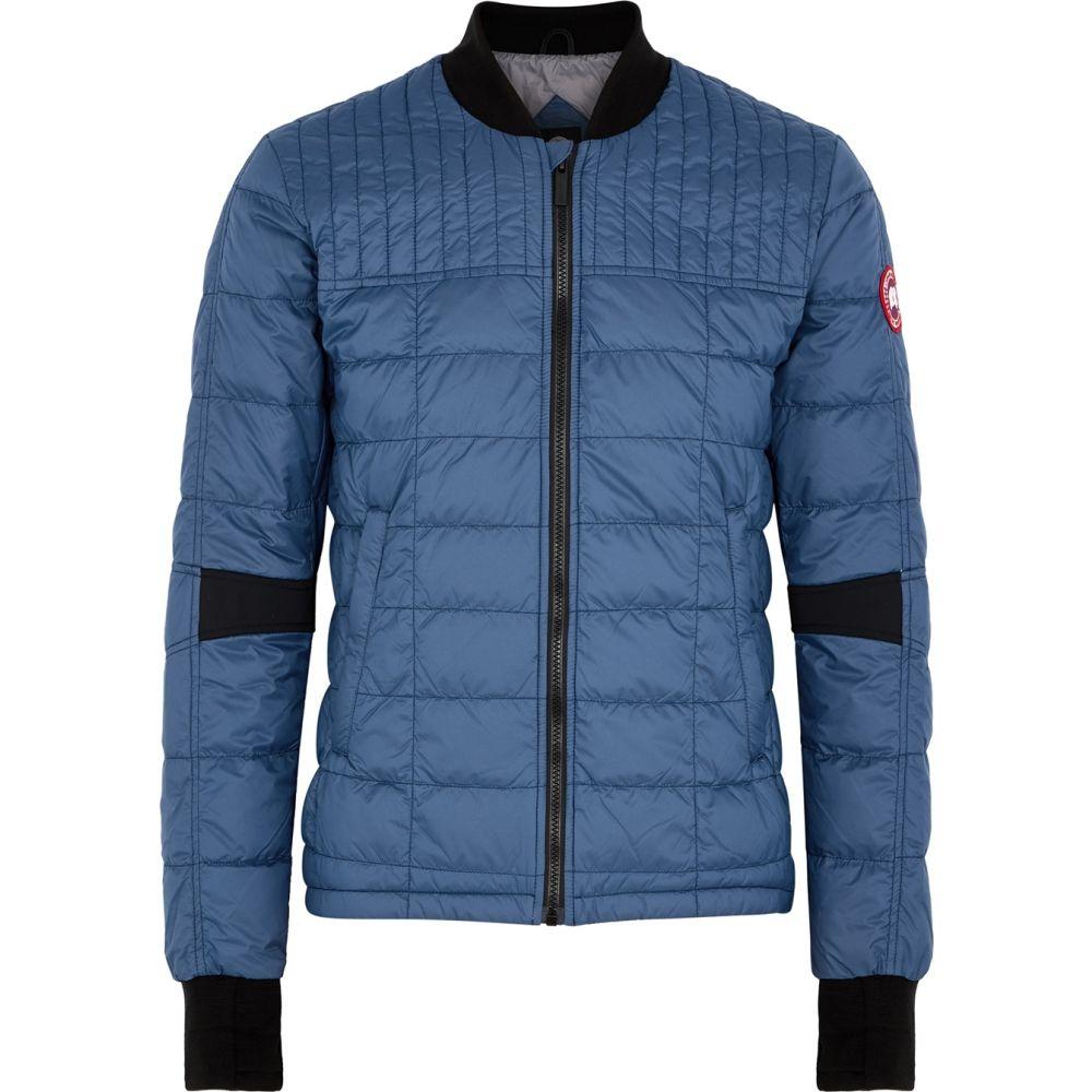カナダグース Canada Goose メンズ ジャケット シェルジャケット アウター【Dunham Blue Quilted Shell Jacket】Blue