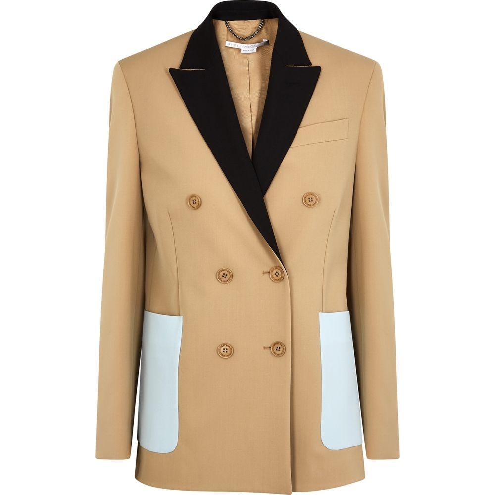ステラ マッカートニー Stella McCartney レディース スーツ・ジャケット アウター【Alena Camel Wool-Blend Jacket】Natural