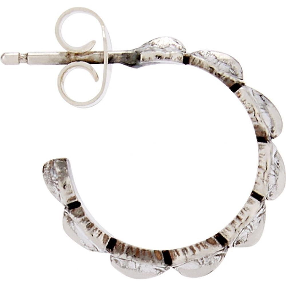 エマニュエレ ビコッキ Emanuele Bicocchi メンズ イヤリング・ピアス フープピアス ジュエリー・アクセサリー【Sterling Silver Hoop Earring】Silver
