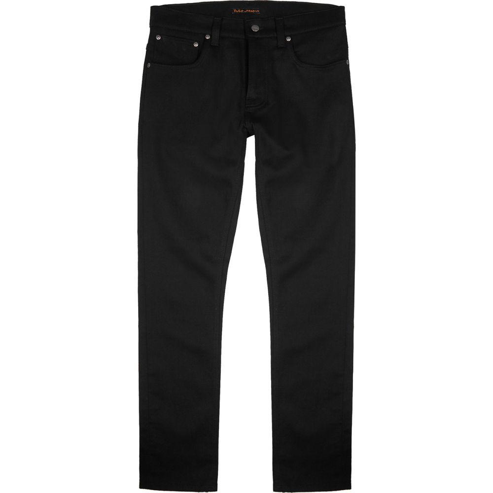 ヌーディージーンズ Nudie Jeans メンズ ジーンズ・デニム ボトムス・パンツ【Grim Tim Slim-Leg Black Denim Jeans】Black