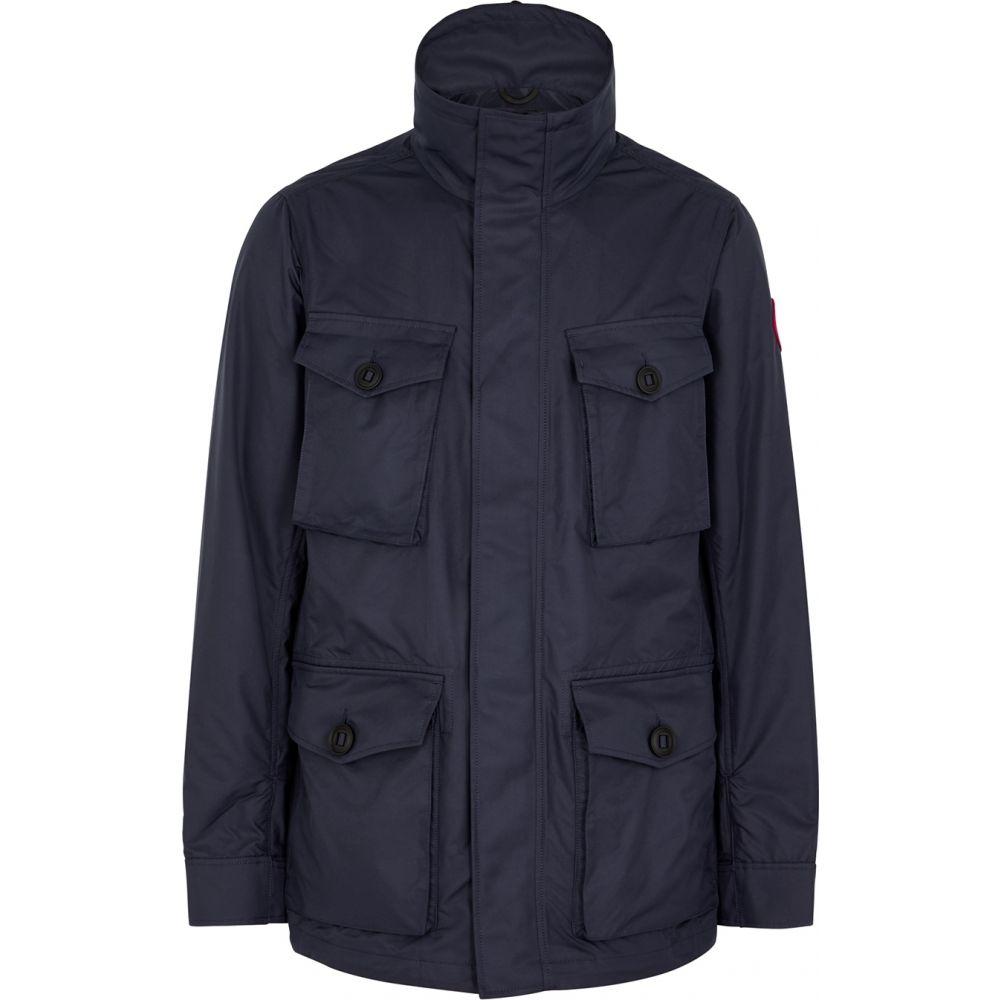 カナダグース Canada Goose メンズ ジャケット シェルジャケット アウター【Stanhope Navy Shell Jacket】Navy