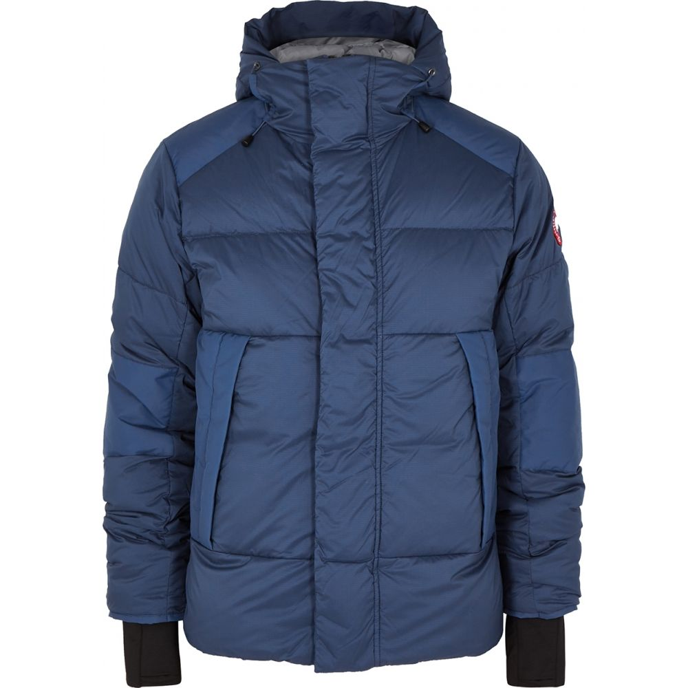 カナダグース Canada Goose メンズ ジャケット シェルジャケット アウター【Armstrong Blue Quilted Shell Jacket】Blue