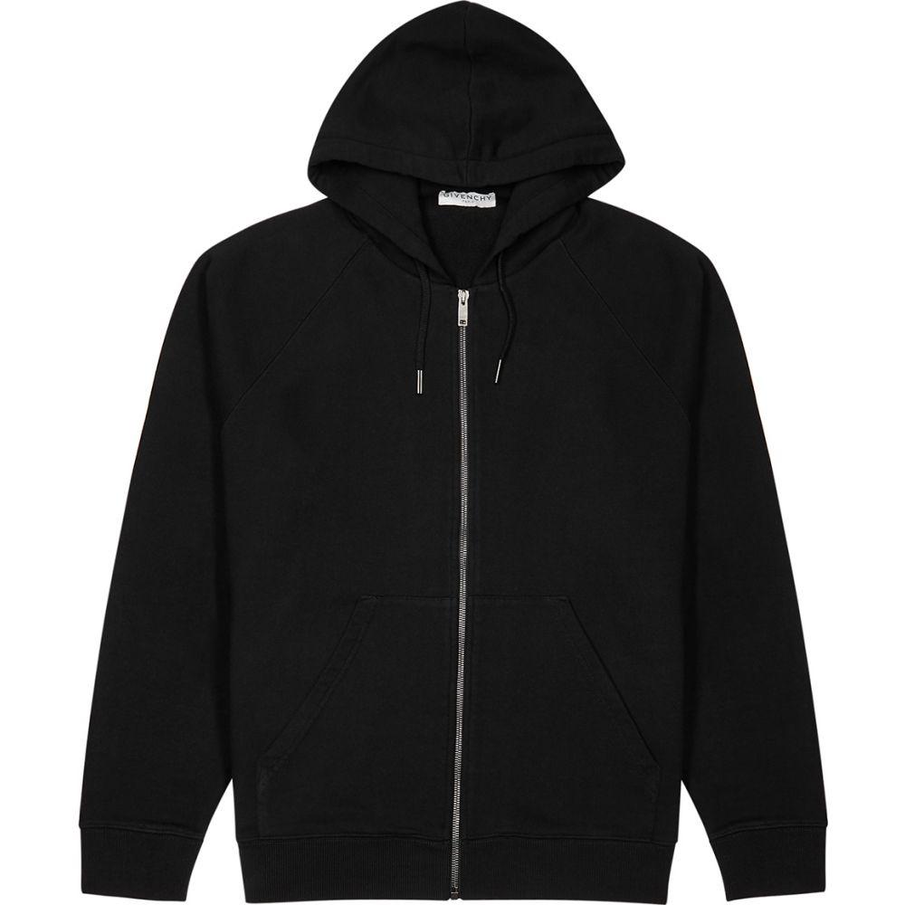 ジバンシー Givenchy メンズ スウェット・トレーナー トップス【Black Logo-Print Cotton-Jersey Sweatshirt】Black