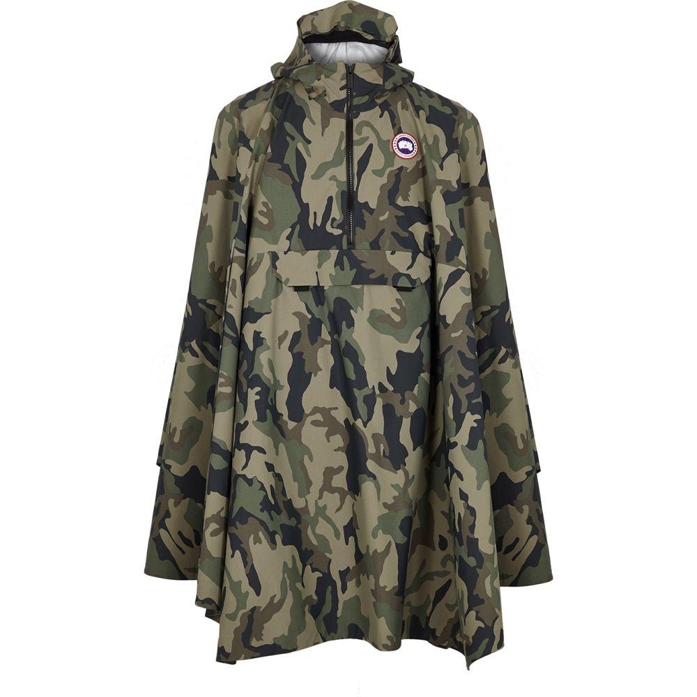 カナダグース Canada Goose メンズ ポンチョ アウター【Field Camouflage Shell Poncho】Multi