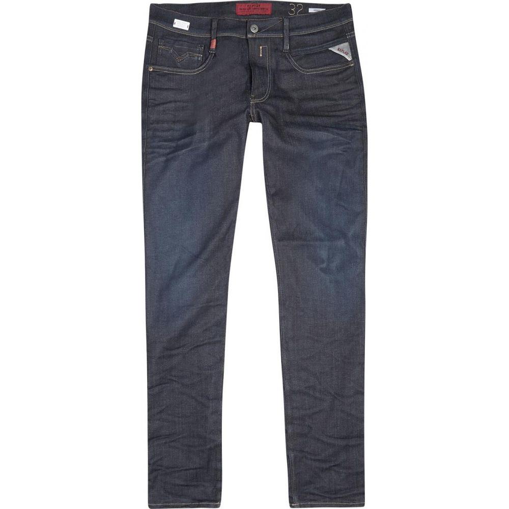 リプレイ Replay メンズ ジーンズ・デニム ボトムス・パンツ【Anbass Hyperflex Indigo Slim-Leg Jeans】Blue