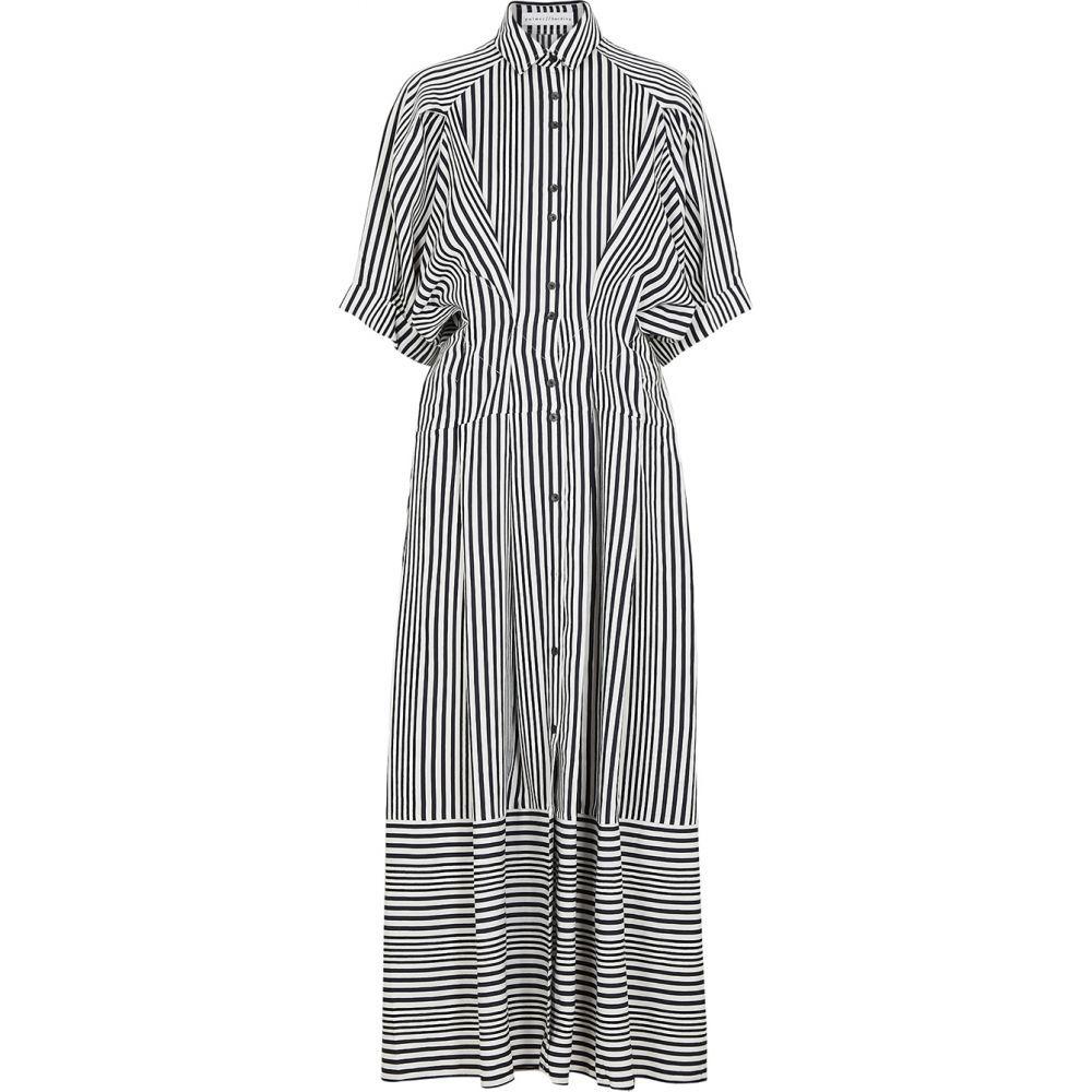 パルマーハーディング palmer//harding レディース ワンピース シャツワンピース ワンピース・ドレス【Sunda Striped Twill Shirt Dress】Blue