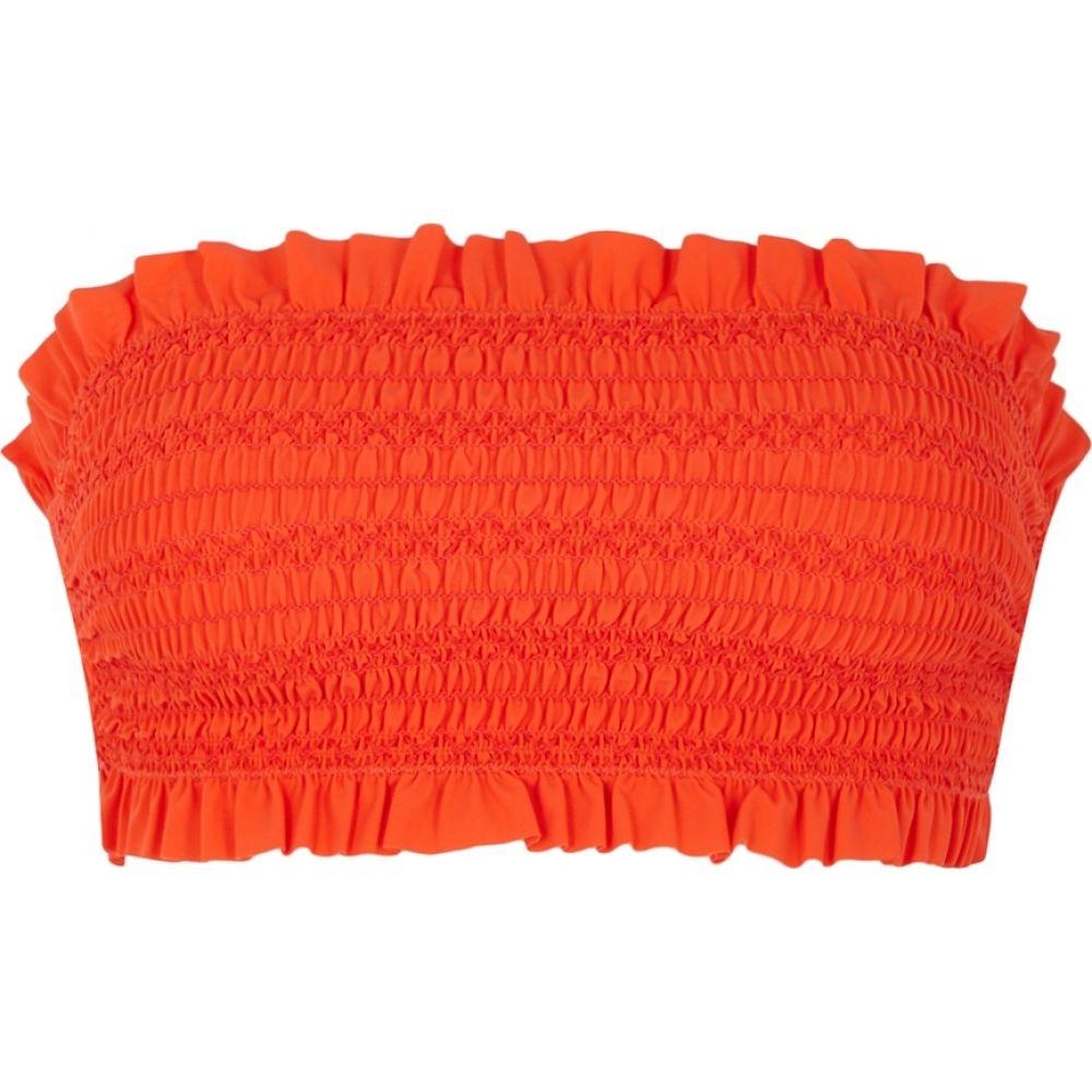 トリー バーチ Tory Burch レディース トップのみ 水着・ビーチウェア【Costa Red Bandeau Bikini Top】Red