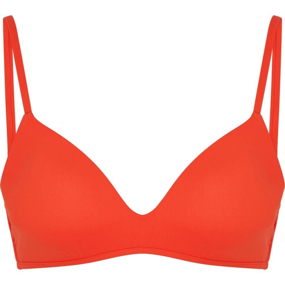 トリー バーチ Tory Burch レディース トップのみ 水着・ビーチウェア【T-Belt Red Bikini Top】Red