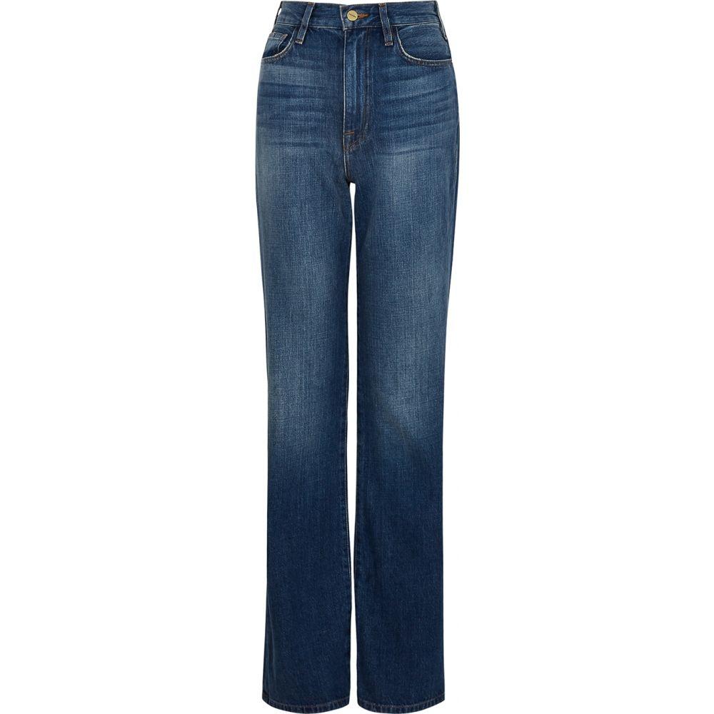 フレーム Frame レディース ジーンズ・デニム ボトムス・パンツ【Le Jane Blue Straight-Leg Jeans】Blue