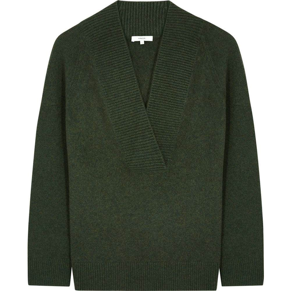 ヴィンス Vince レディース ニット・セーター トップス【Dark Green Wool-Blend Jumper】Green
