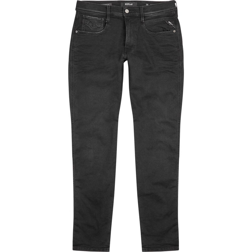 リプレイ Replay メンズ ジーンズ・デニム ボトムス・パンツ【Anbass Hyperflex Clouds Slim-Leg Jeans】Grey
