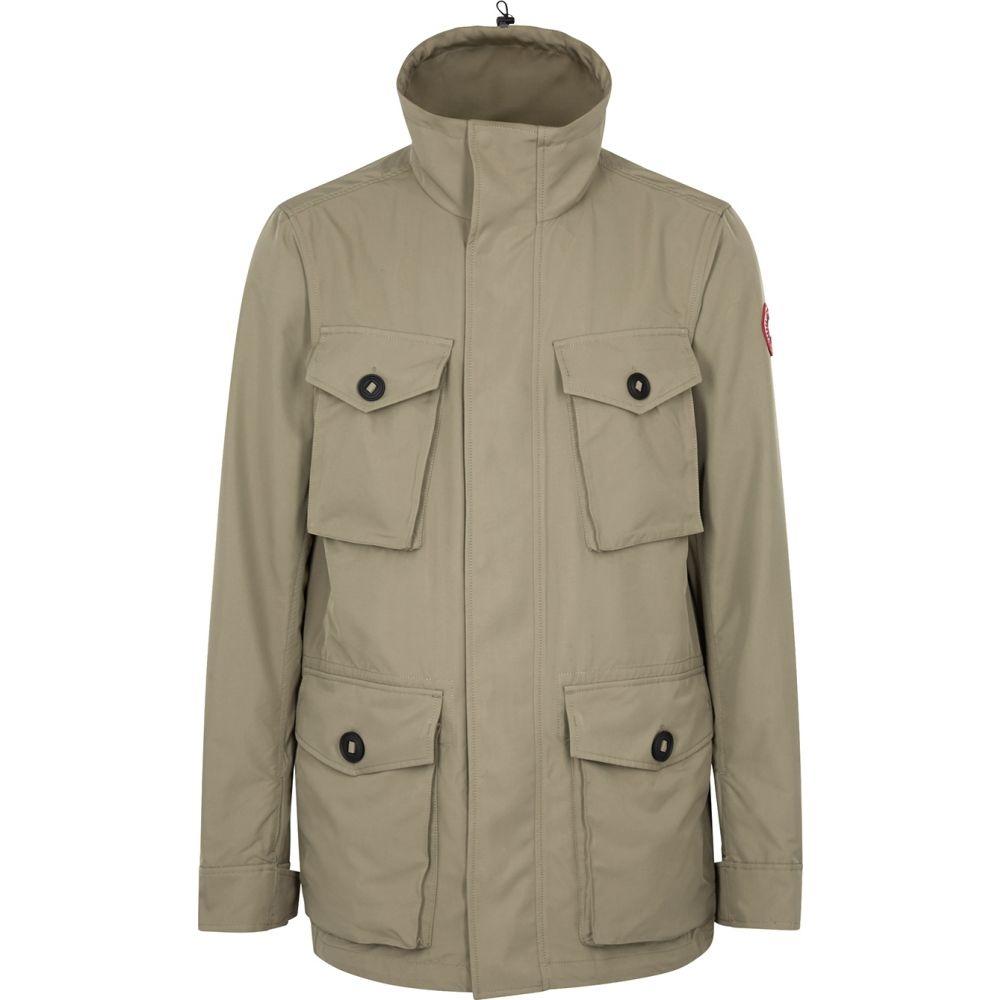 カナダグース Canada Goose メンズ コート アウター【Stanhope Sage Shell Coat】Green