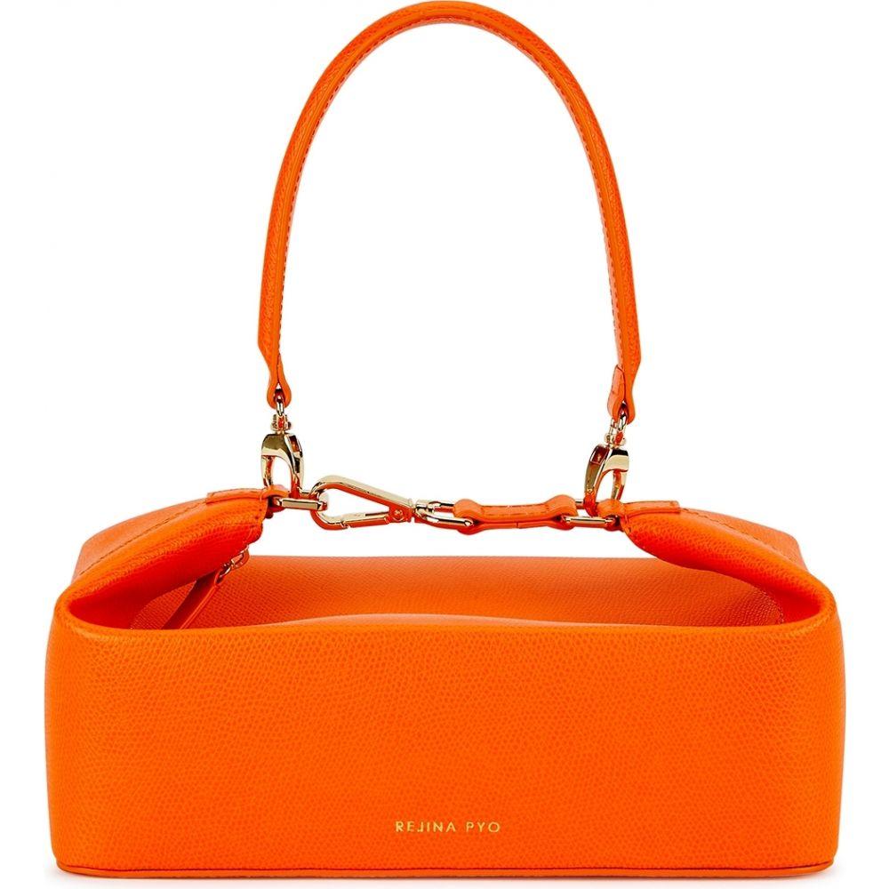 レジーナ ピヨ Rejina Pyo レディース ハンドバッグ バッグ【Olivia Orange Leather Top Handle Bag】Orange