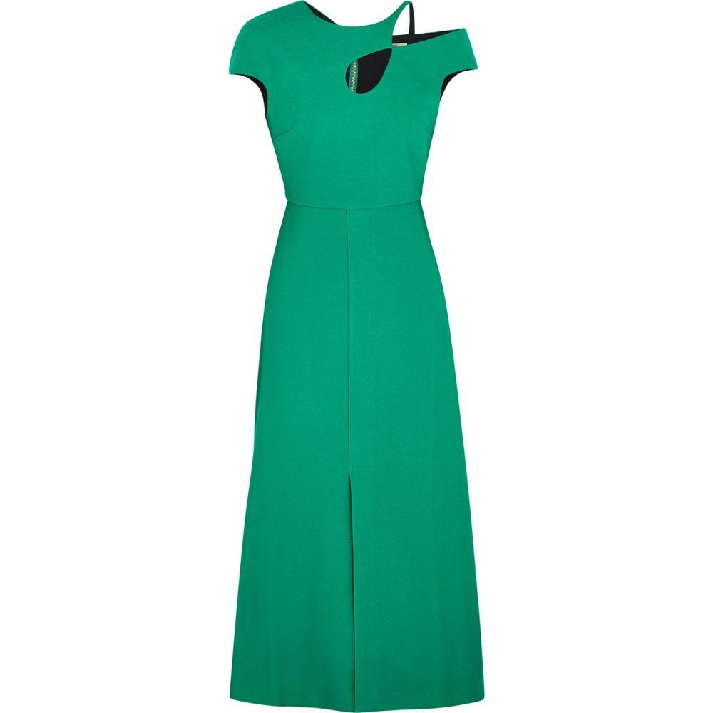 ローラン ムレ Roland Mouret レディース ワンピース ワンピース・ドレス【Thean Green Asymmetric Dress】Green