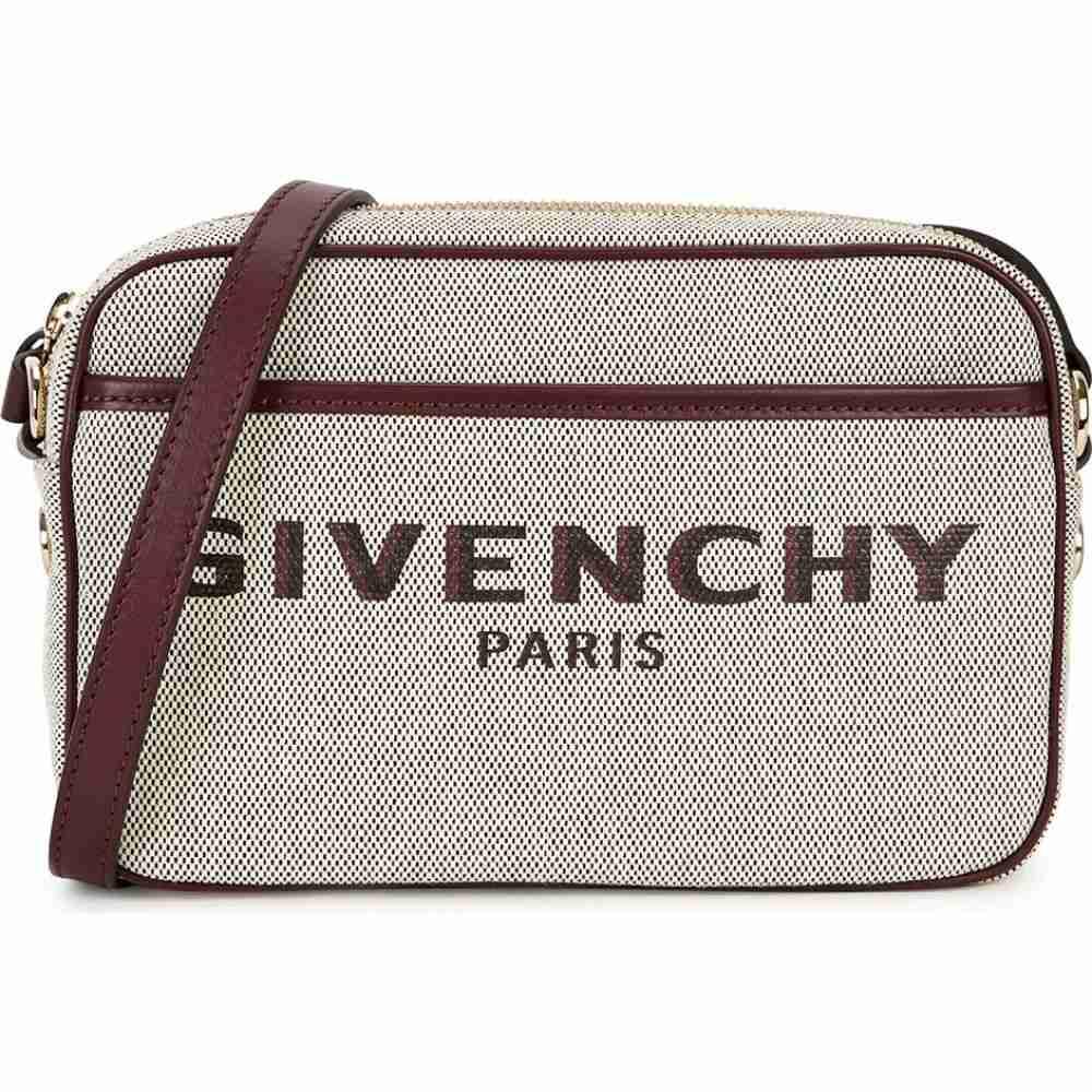ジバンシー Givenchy レディース ショルダーバッグ バッグ【Bond Logo Canvas Cross-Body Bag】Natural