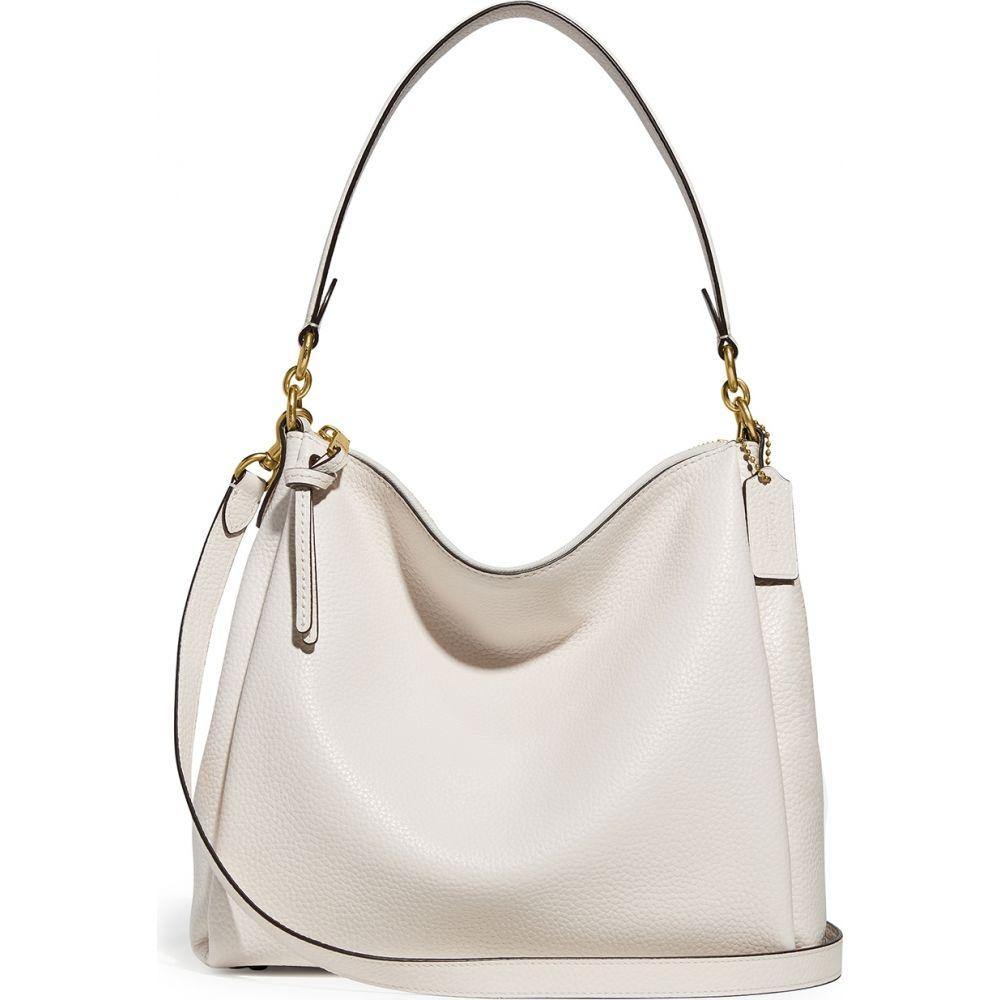 コーチ Coach レディース ショルダーバッグ バッグ【Shay Ivory Leather Shoulder Bag】White