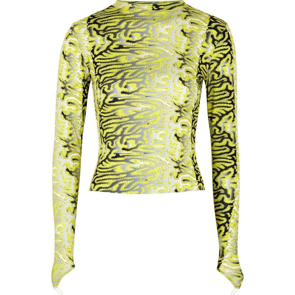 メイジー ウィレン Maisie Wilen レディース トップス 【Printed Stretch-Jersey Top】Green