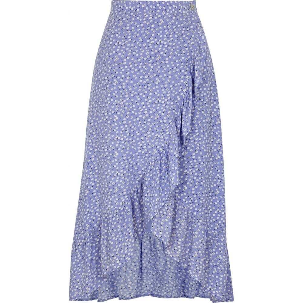 レイルズ Rails レディース スカート ラップスカート【Nova Blue Floral-Print Wrap Skirt】Blue