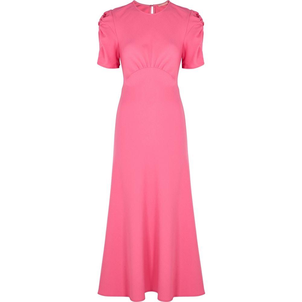 マギーマリリン Maggie Marilyn レディース ワンピース ミドル丈 ワンピース・ドレス【It'S Up To You Pink Wool Midi Dress】Pink
