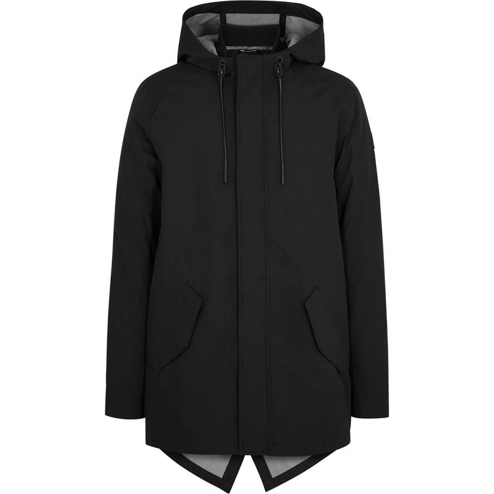 ムースナックル Moose Knuckles メンズ ジャケット シェルジャケット アウター【Dally Layered Shell And Quilted Jacket】Black