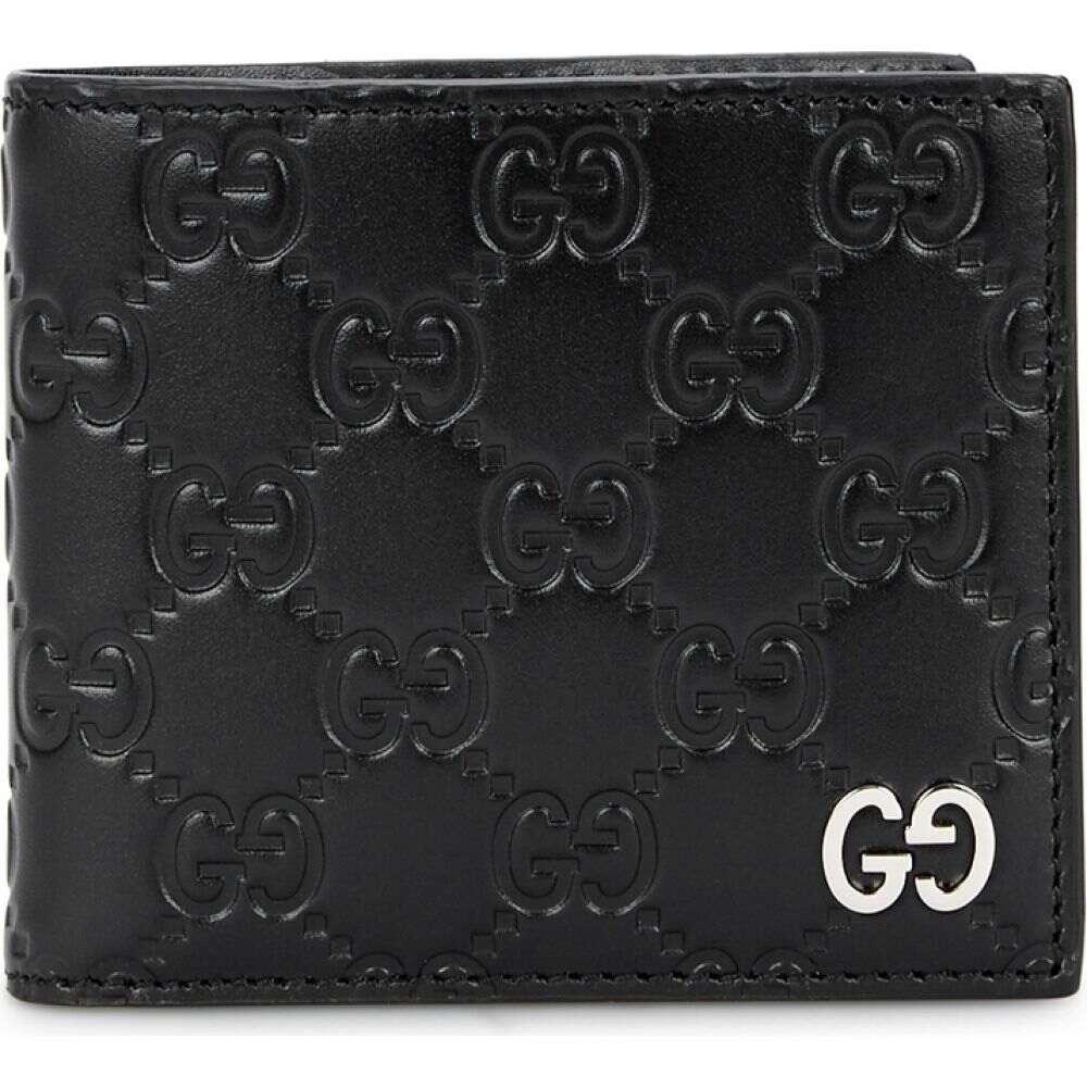 グッチ Gucci メンズ 財布 【Dorian Black Leather Wallet】Black