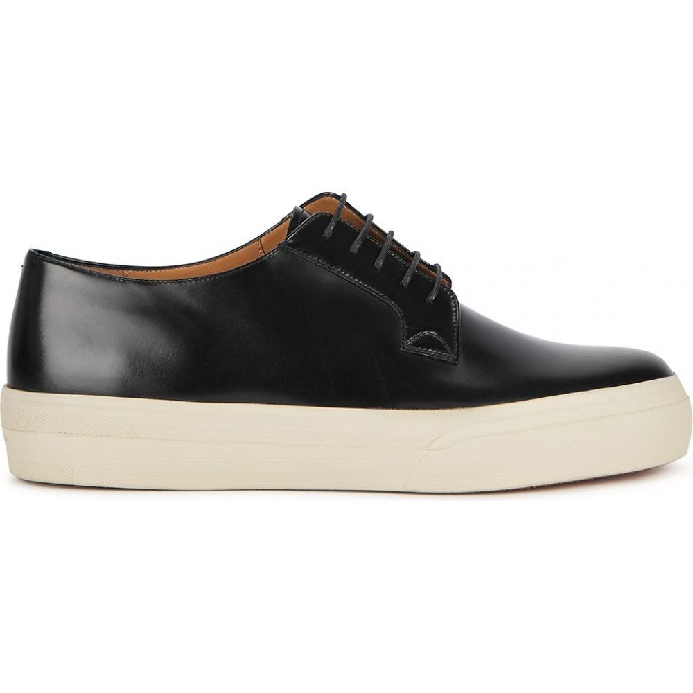 ドリス ヴァン ノッテン Dries Van Noten メンズ 革靴・ビジネスシューズ シューズ・靴【Black Glossed Leather Shoes】Black