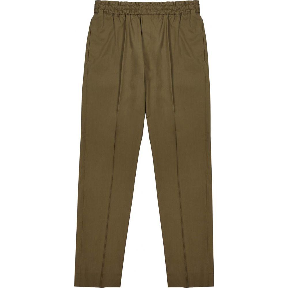 アクネ ストゥディオズ Acne Studios メンズ ボトムス・パンツ 【Ryder Straight-Leg Cotton Trousers】Green