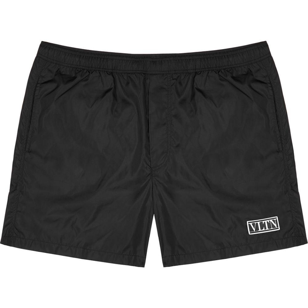 ヴァレンティノ Valentino メンズ 海パン ショートパンツ 水着・ビーチウェア【Vltn Black Shell Swim Shorts】Black