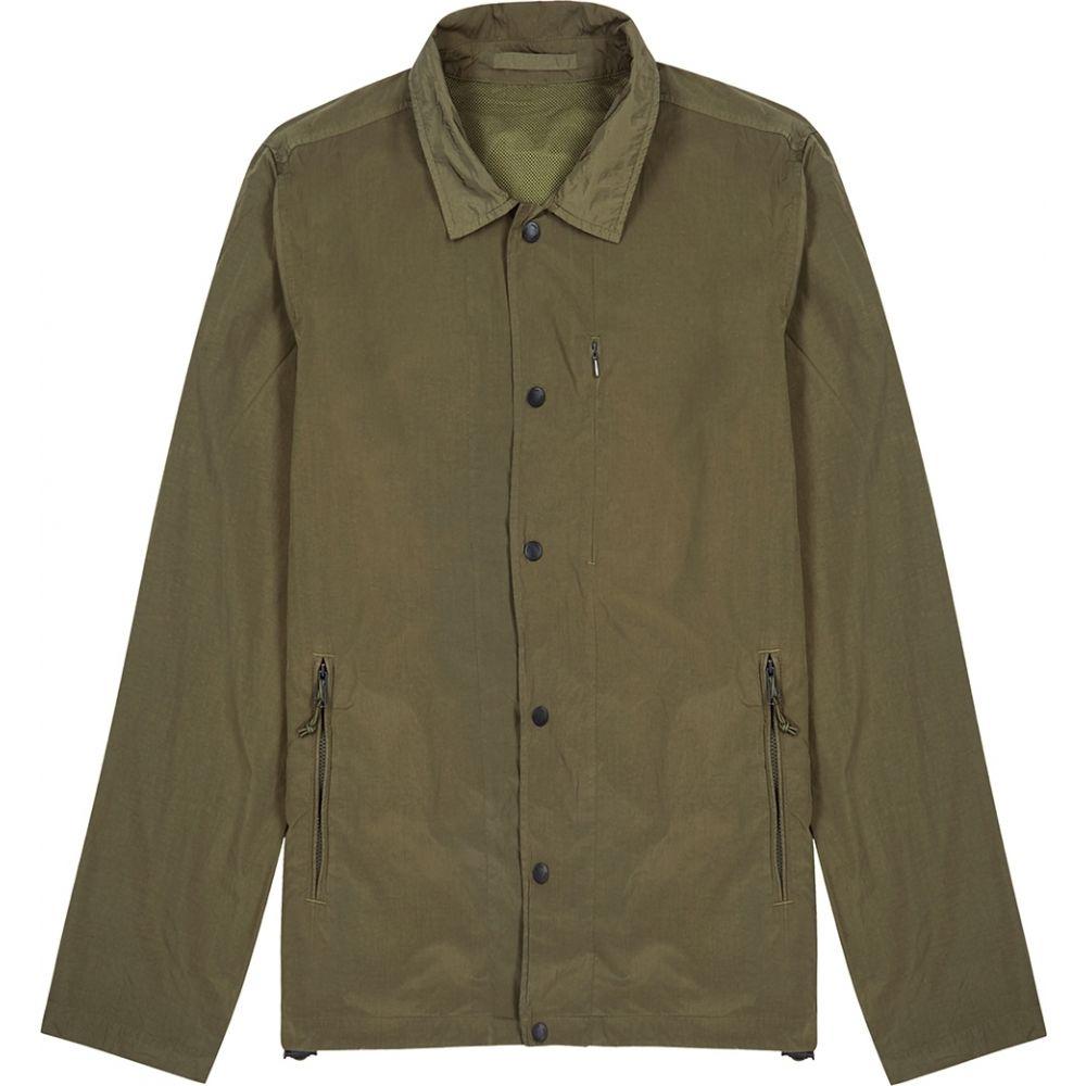 ノースプロジェクト Norse Projects メンズ ジャケット アウター【Svend Army Green Nylon Jacket】Green