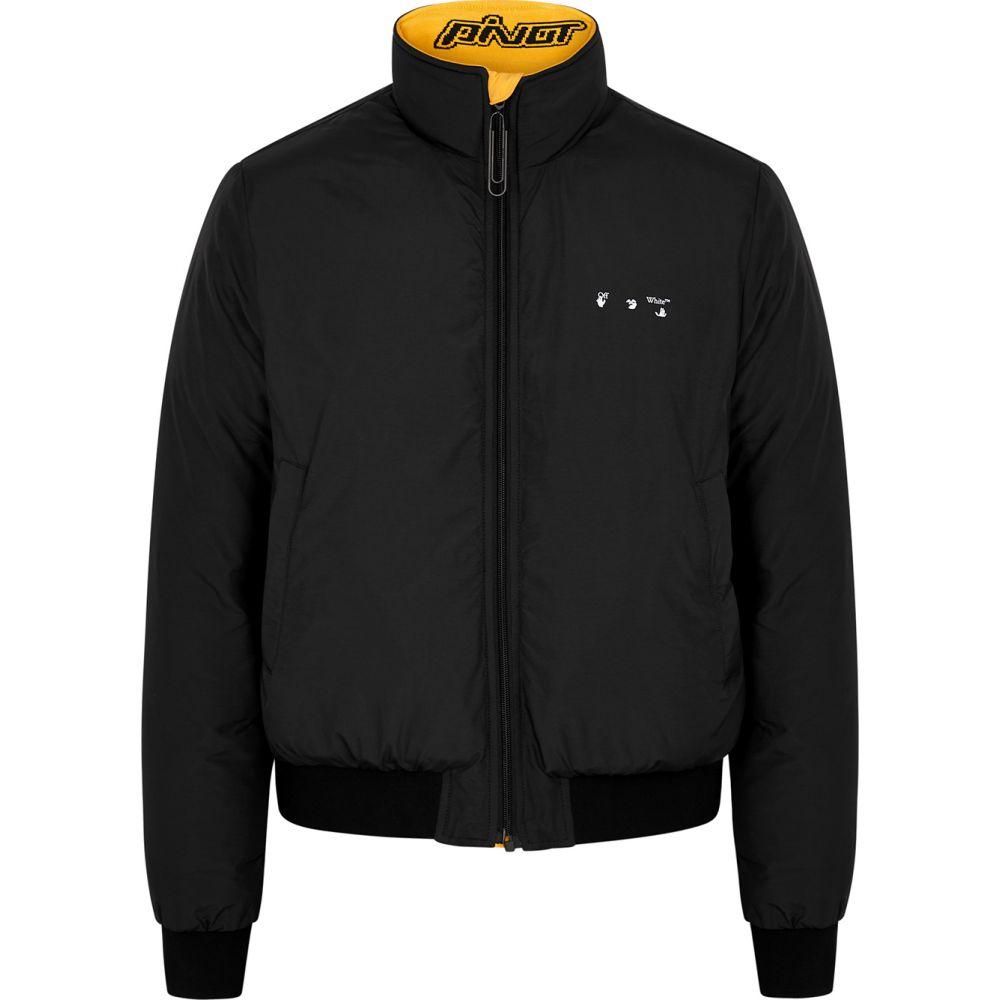 オフホワイト Jacket】Black ジャケット シェルジャケット Reversible Off-White メンズ Shell アウター【Arrows