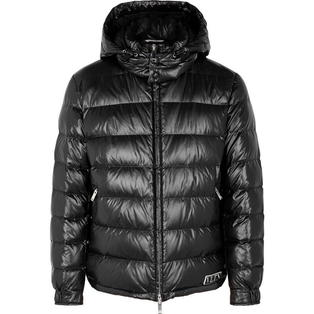 ヴァレンティノ Valentino メンズ ジャケット シェルジャケット アウター【Vltn Black Quilted Shell Jacket】Black