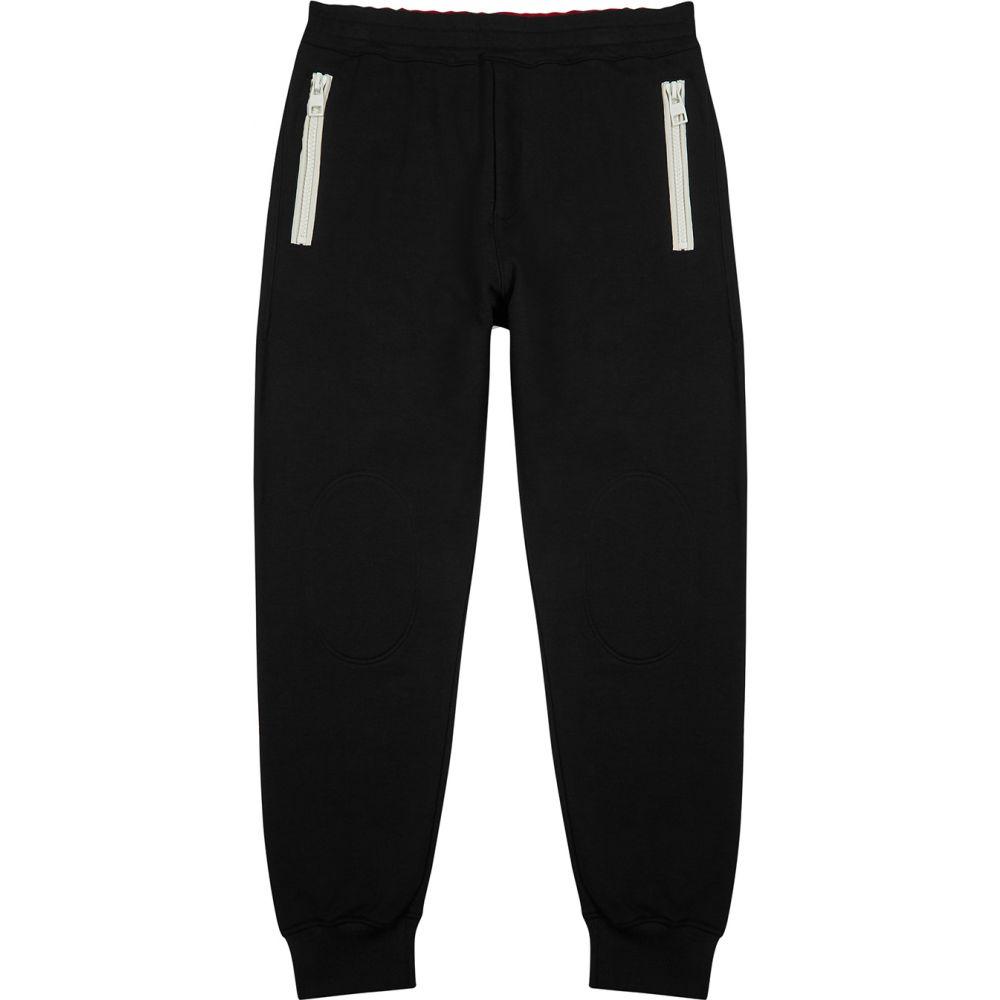 アレキサンダー マックイーン Alexander McQueen メンズ スウェット・ジャージ ボトムス・パンツ【Black Cotton Sweatpants】Black