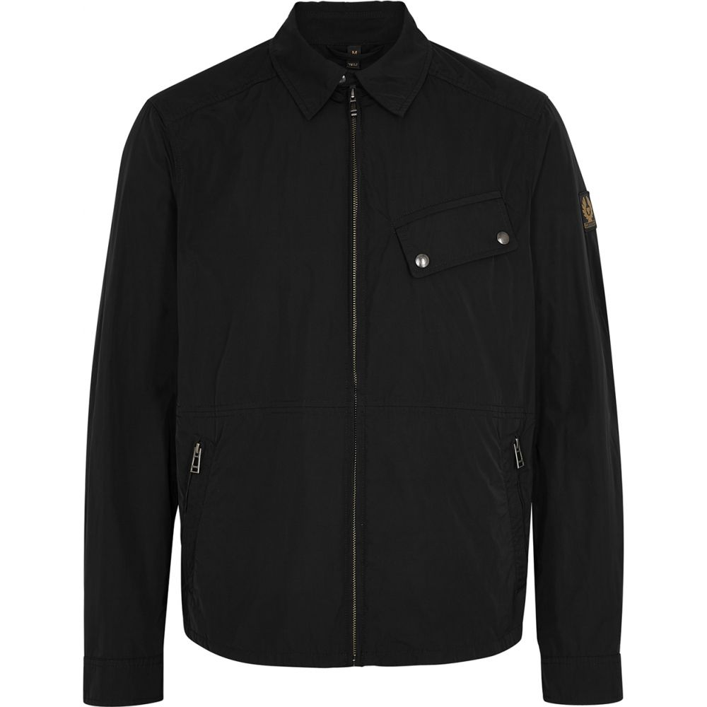 ベルスタッフ Belstaff メンズ ジャケット シェルジャケット アウター【Camber Black Shell Jacket】Black