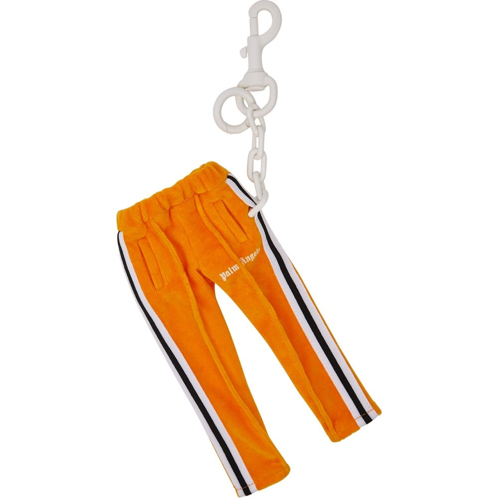 パーム エンジェルス Palm Angels メンズ キーホルダー キーリング【Track Pants Orange Velour Keyring】Orange