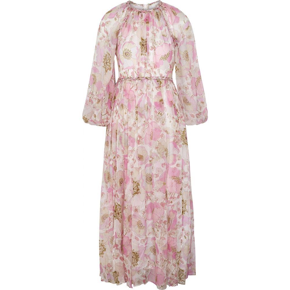 ジマーマン Zimmermann レディース ワンピース ミドル丈 ワンピース・ドレス【Super Eight Floral-Print Silk Midi Dress】Multi