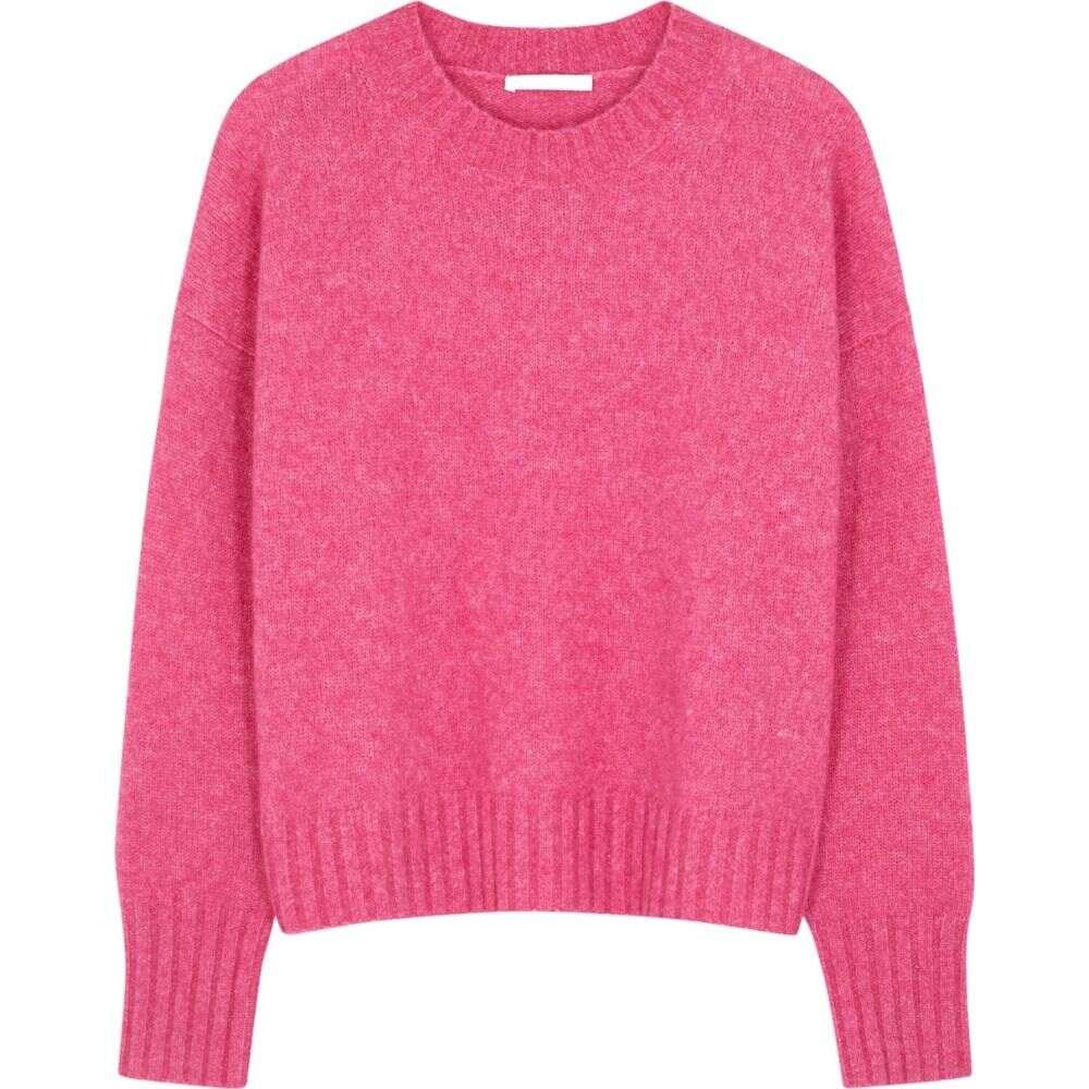 ヘルムート ラング Helmut Lang レディース ニット・セーター トップス【Hot Pink Wool-Blend Jumper】Pink