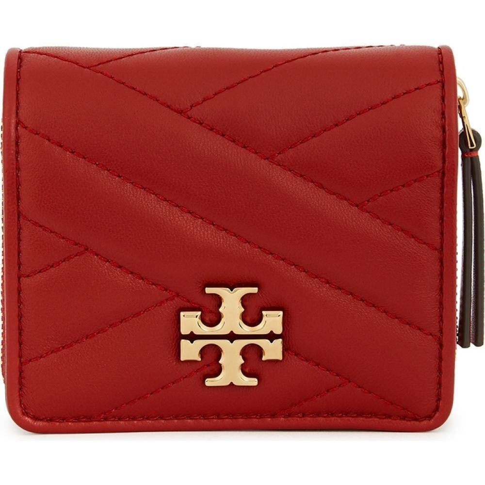 トリー バーチ Tory Burch レディース 財布 【Kira Red Leather Wallet】Red