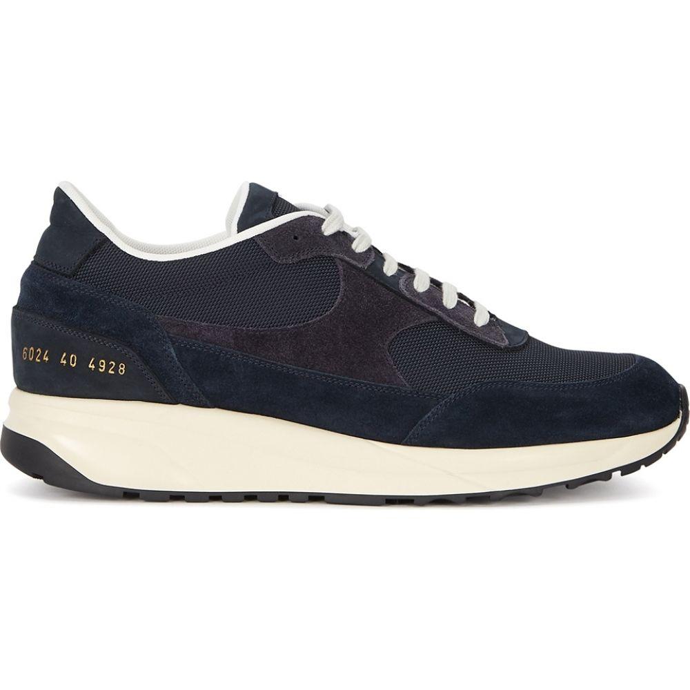 コモン プロジェクト Common Projects レディース スニーカー シューズ・靴【Track Classic Navy Suede Sneakers】Navy
