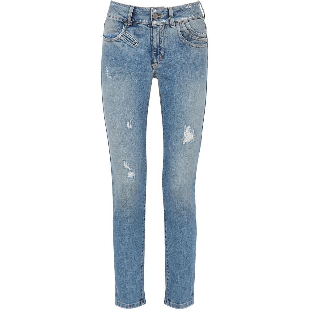 ジバンシー Givenchy レディース ジーンズ・デニム ボトムス・パンツ【Blue Distressed Skinny Jeans】Blue