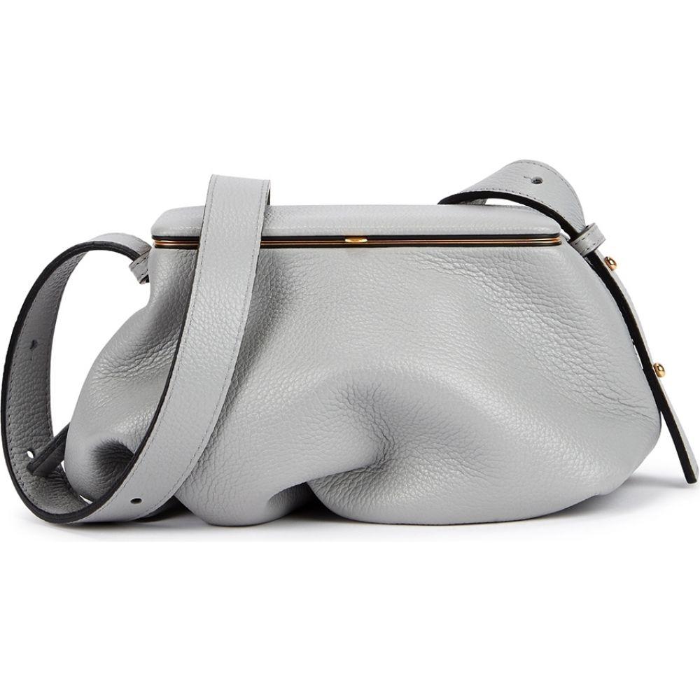ルッツ モリス Lutz Morris レディース ショルダーバッグ バッグ【Blake Grey Leather Cross-Body Bag】Grey