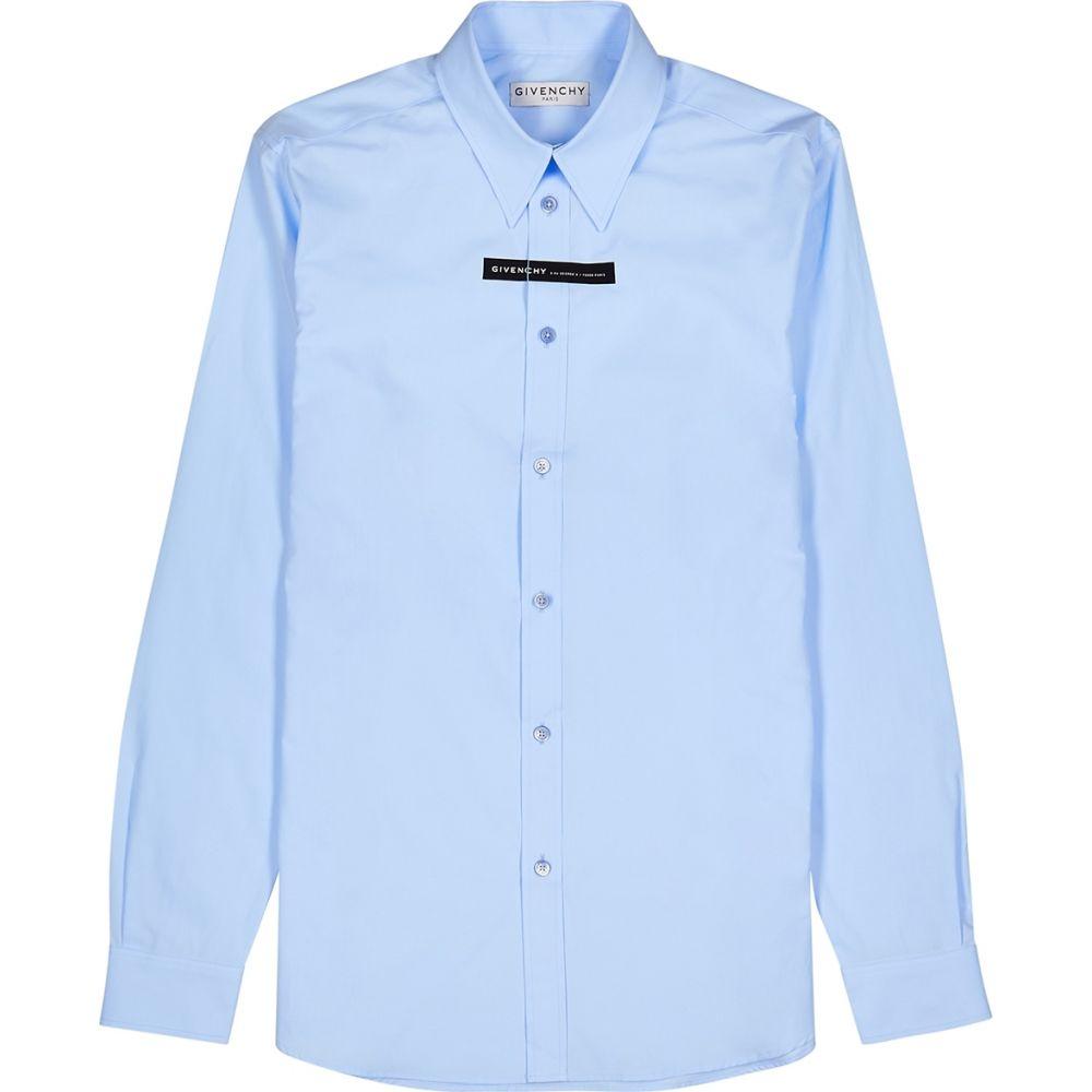 ジバンシー Givenchy メンズ シャツ トップス【Blue Taping Cotton Shirt】Blue