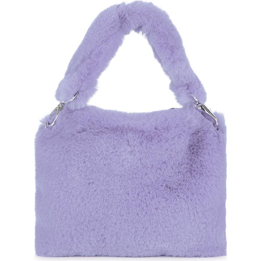 スタンドスタジオ Stand Studio レディース ショルダーバッグ バッグ【Luna Lilac Faux Fur Shoulder Bag】Blue