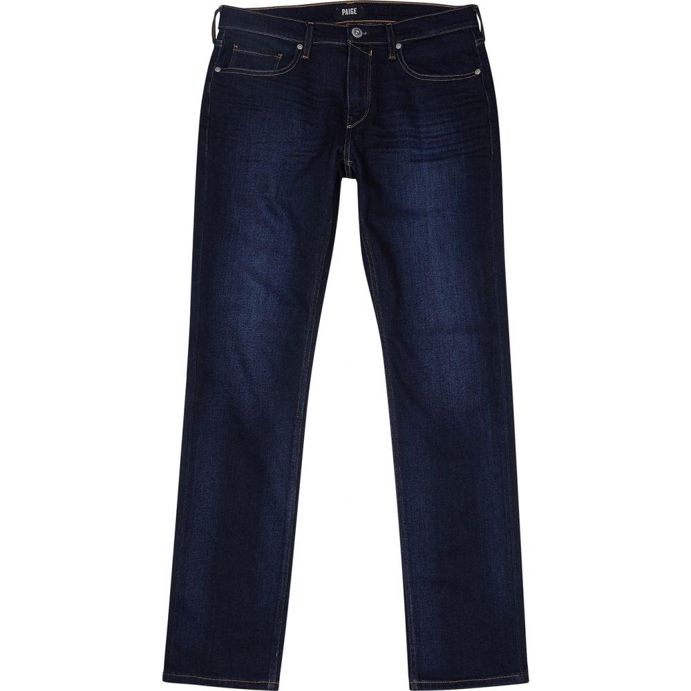 ペイジ Paige メンズ ジーンズ・デニム ボトムス・パンツ【Federal Indigo Straight-Leg Jeans】Blue