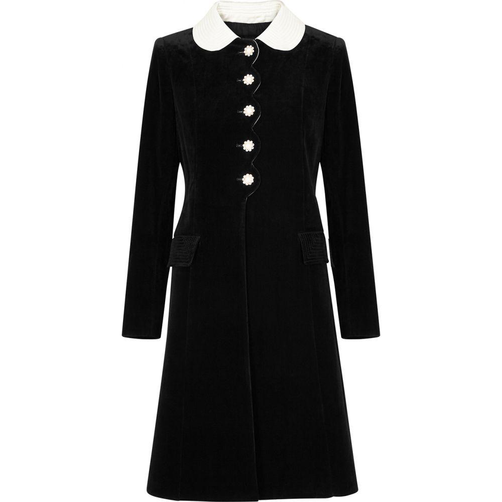 マーク ジェイコブス Marc Jacobs レディース コート アウター【The Sunday Best Black Velveteen Coat】Black