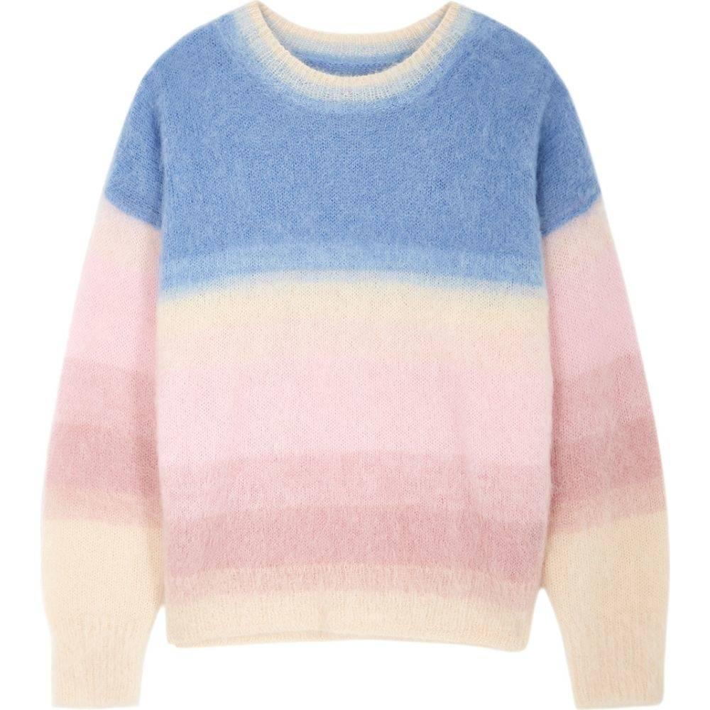 イザベル マラン Isabel Marant Etoile レディース ニット・セーター トップス【Drussel Striped Mohair-Blend Jumper】Pink