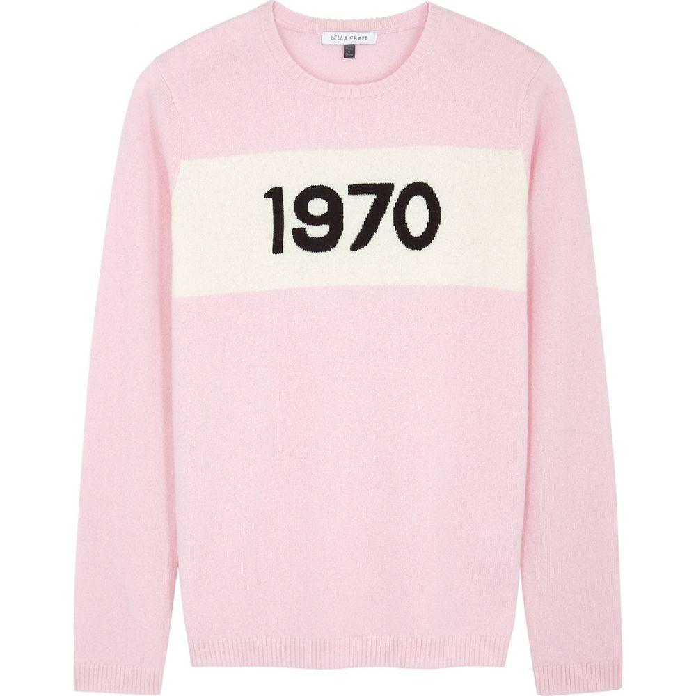 ベラフルード Bella Freud レディース ニット・セーター トップス【1970 Light Pink Cashmere Jumper】Pink