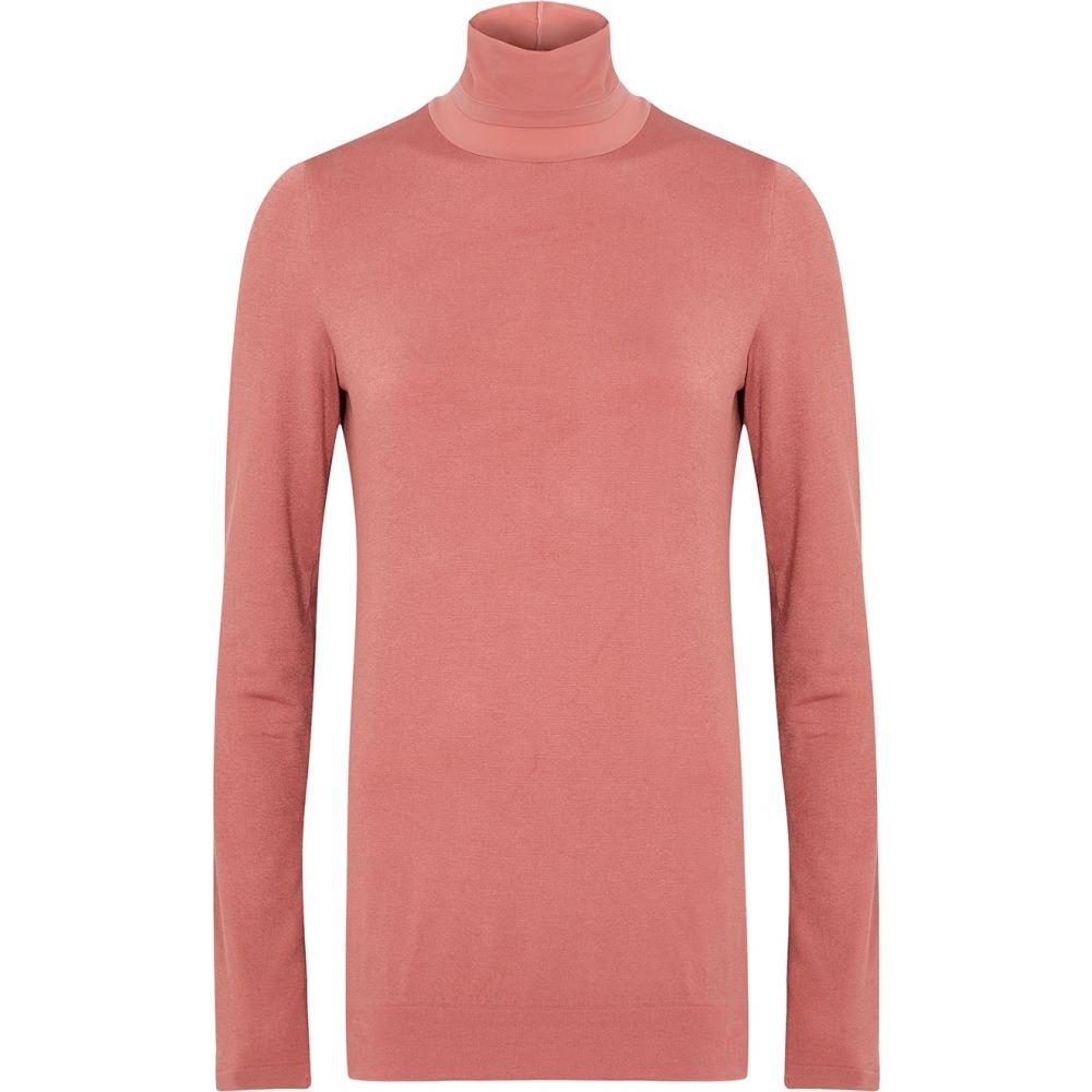 ウォルフォード Wolford レディース ニット・セーター トップス【Colorado Pink Roll-Neck Jersey Jumper】Pink