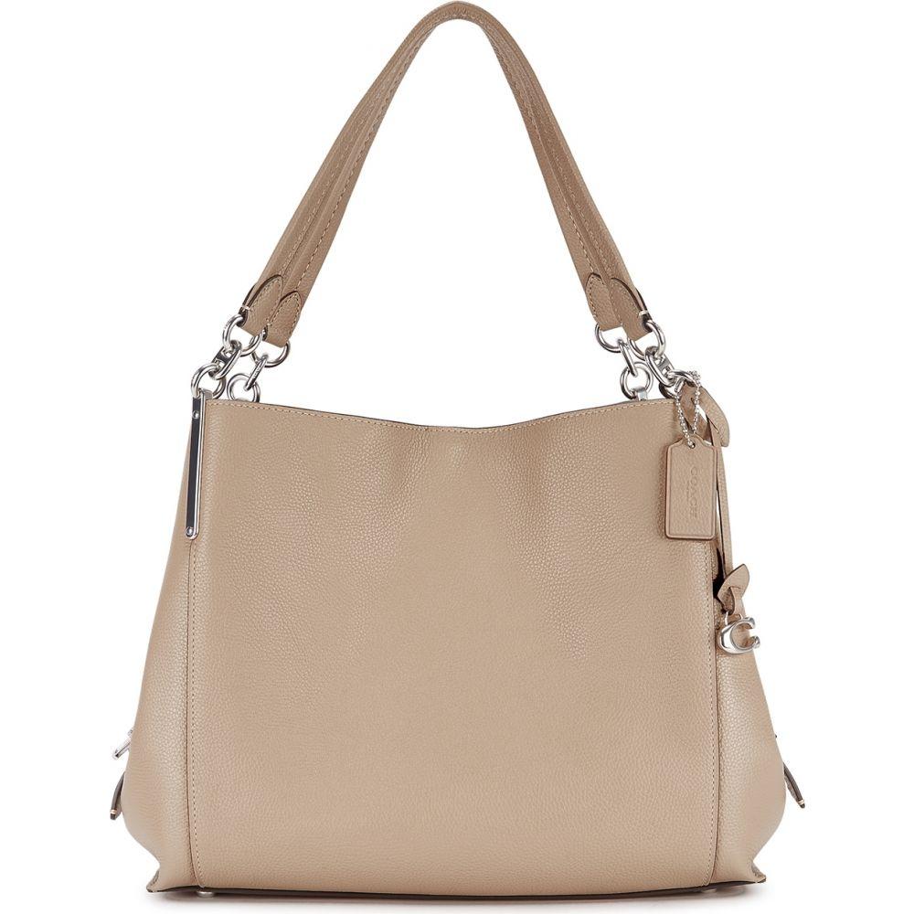 コーチ Coach レディース ショルダーバッグ バッグ【Dalton 31 Stone Leather Hobo Bag】Natural