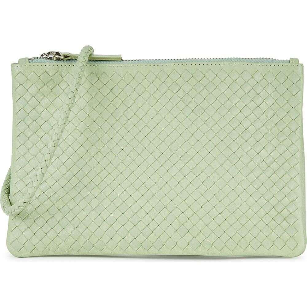 ドラゴンディフュージョン Dragon Diffusion レディース ショルダーバッグ バッグ【Interlaced Mint Leather Cross-Body Bag】Green