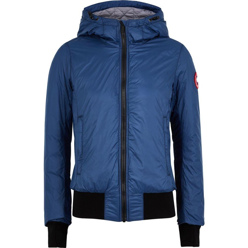カナダグース Canada Goose レディース ブルゾン ミリタリージャケット シェルジャケット アウター【Dore Blue Shell Bomber Jacket】Blue